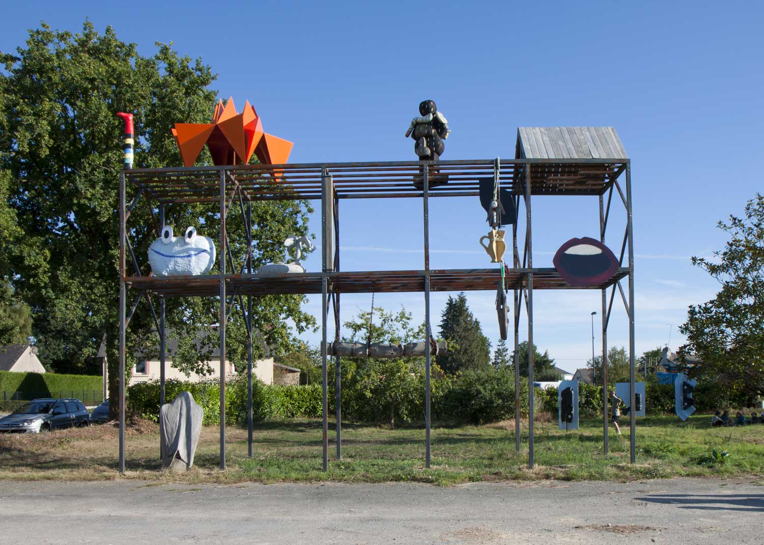 HubHug Sculpture Project