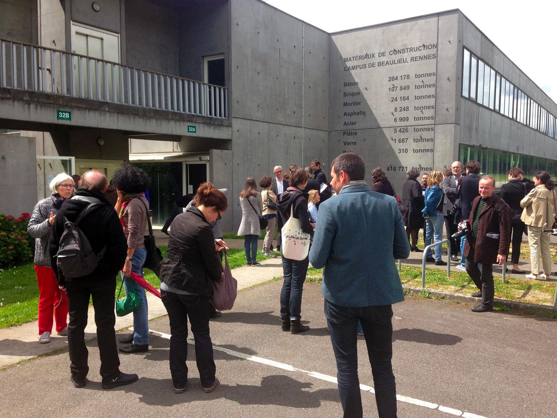Matériaux de construction – Campus Beaulieu, Rennes